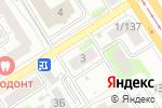 Схема проезда до компании Соломон в Барнауле