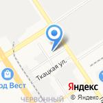 Ремис на карте Барнаула