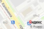 Схема проезда до компании Exist.ru в Барнауле