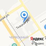 Луговое на карте Барнаула