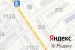 Схема проезда до компании Алтайская краевая специальная библиотека для незрячих и слабовидящих в Барнауле