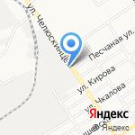 Магазин спецодежды и обуви на карте Барнаула