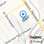 ВИЛАУ на карте Барнаула