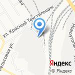 Алтай-мебель на карте Барнаула