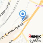 Ананас на карте Барнаула