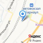 Барнаульский магистральный сортировочный центр на карте Барнаула