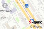 Схема проезда до компании ЗагорайКа в Барнауле