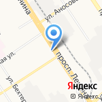 ЗагорайКа на карте Барнаула