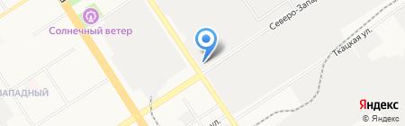 Автозар на карте Барнаула