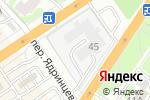 Схема проезда до компании Автомойка №1 в Барнауле