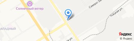 АВТОПРОКАТ на карте Барнаула