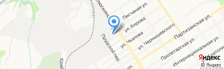 ПОЗИТИВ на карте Барнаула