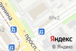Схема проезда до компании Алтай партс в Барнауле
