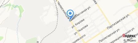 Алтайхозторг на карте Барнаула