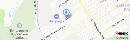 Brewer house на карте Барнаула