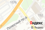 Схема проезда до компании Абаз в Барнауле