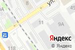 Схема проезда до компании БСК в Барнауле