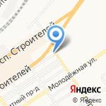 Абаз на карте Барнаула
