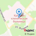 Федеральный центр травматологии на карте Барнаула