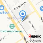 Управление механизации №8 на карте Барнаула