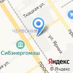 БСК на карте Барнаула