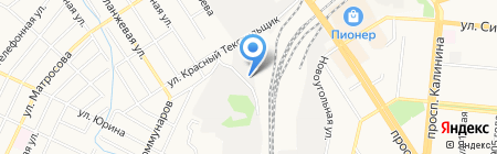 ТЭКСИБ-Алтай на карте Барнаула