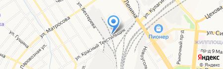 Алтайские сыры на карте Барнаула