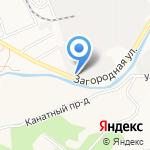 Мидас на карте Барнаула