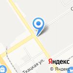 Калинка на карте Барнаула