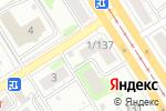 Схема проезда до компании Абсолютная чистота в Барнауле