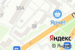 Схема проезда до компании Ананас в Барнауле