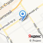 ГраНИД на карте Барнаула