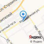 Автомуза на карте Барнаула