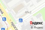 Схема проезда до компании АльфаКомплект в Барнауле