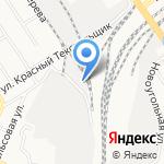 БФ ТК на карте Барнаула