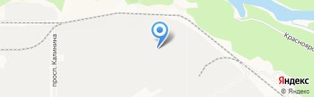ПродснабАлтай на карте Барнаула