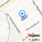 Автобам на карте Барнаула
