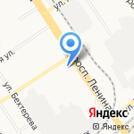 Lovely на карте Барнаула