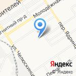 Адалин-Охрана на карте Барнаула