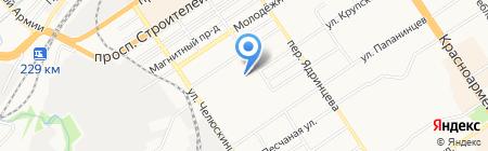 Торговый Дом Малиновое Озеро на карте Барнаула