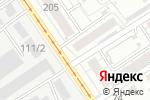 Схема проезда до компании Спортивный клуб по тхэквондо в Барнауле