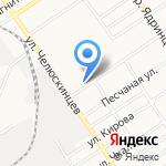 Деметра-Сибирь на карте Барнаула