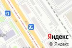 Схема проезда до компании Магазин стоковой европейской одежды в Барнауле