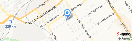 Агентство миграционных услуг на карте Барнаула