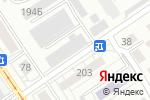 Схема проезда до компании Реклама Сити в Барнауле