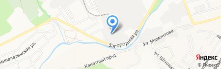УниПак на карте Барнаула