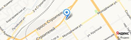 Дюшес на карте Барнаула