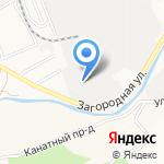 ПолимерКраска-Алтай на карте Барнаула