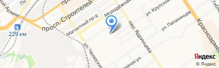 Алтайопт на карте Барнаула