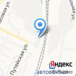 АСТ24 на карте Барнаула